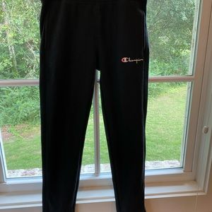 Champion Pants & Jumpsuits - ‼️CHAMPION Leggings drk navy with stripes: XS‼️
